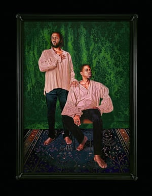 Portrait of Rashid Johnson and Sanford Biggers, The Ambassadors, 2017