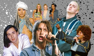 Christina Aguilera; Sugababes; Eminem; Angie Stone; the Strokes; Human League