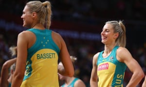 Australian Diamonds netball captain Laura Geitz (right) is concerned that the national league's mooted TV-friendly rule changes could dramatically alter the concept of the game.