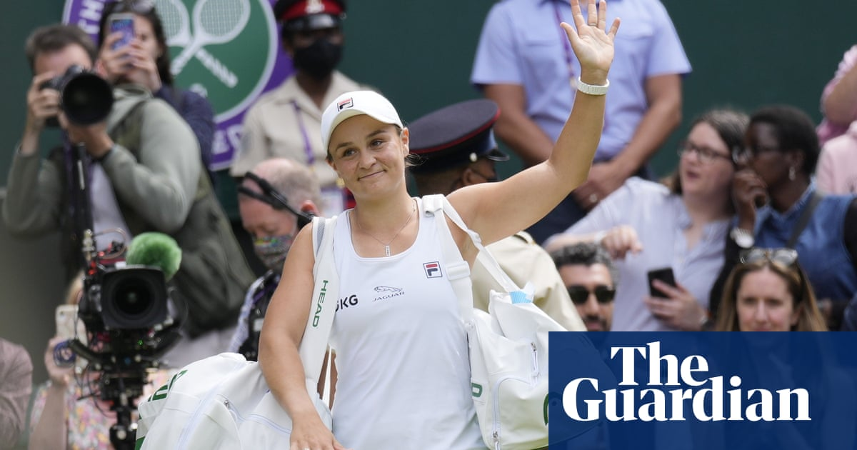 Grounded and meticulous Ash Barty writing tennis history of her own