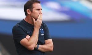 Chelsea's manager, Frank Lampard, is unhappy about having to start the new Premier League season on 12 September at the earliest.