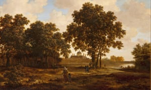 The Hague Forest painting