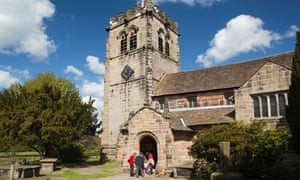 St Mary's church in Nether Alderley, Cheshire