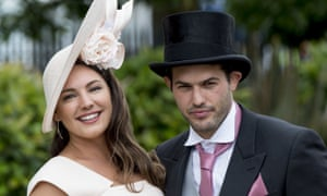 Kelly Brook has come to Royal Ascot.