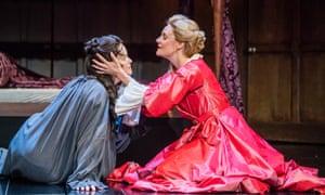 Power play … Emma Cunniffe and and Romola Garai in Queen Anne.