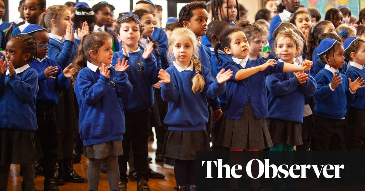 'It's fun – everyone is different': the Jewish school that unites all faiths