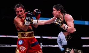 Katie Taylor and Rose Volante