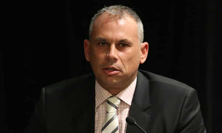 Adam Giles, chief minister of the Northern Territory, says: 'When I get attacked about politics ... I'm going to fight back.'