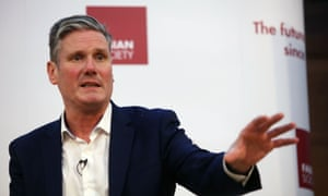 Sir Keir Starmer, the shadow Brexit secretary and Labour leadership candidate.