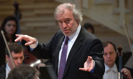 Valery Gergiev, pictured in St Petersburg in June 2017.