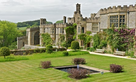 Haddon Hall was empty for 200 years before the Manners family moved back early in the 20th century.