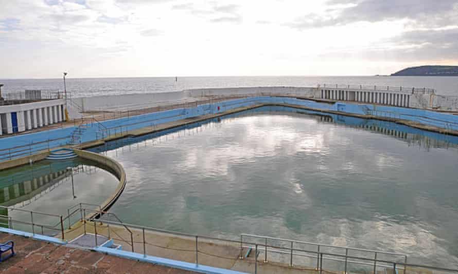 Jubilee pool in Penzance UK.