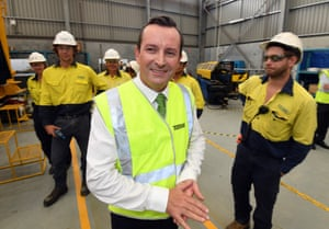 WA Labor leader Mark McGowan