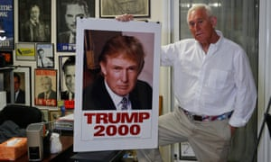 Roger Stone was Donald Trump's main adviser when he flirted with running for president in 2000.