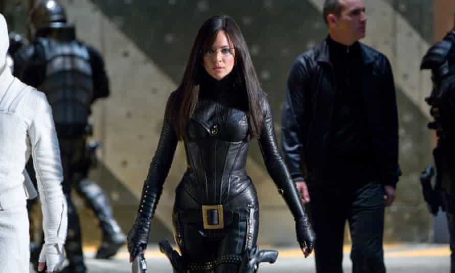 Sienna Miller in GI Joe: The Rise of the Cobra.