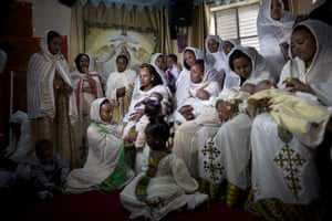In Tel Aviv, Israel, hundreds of Eritreans gather each week in makeshift churches. With walls bedecked with Christian paraphernalia, it's an unlikely scene in the heart of the Jewish state, hidden in a nondescript buildings in the suburbs south of the city