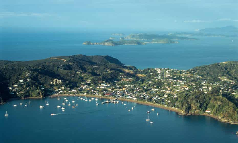 View over Bay of Islands, New Zealand.