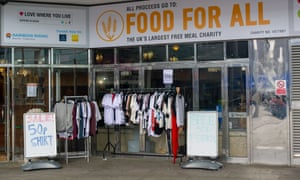 A Food For All shop in Slough, UK.