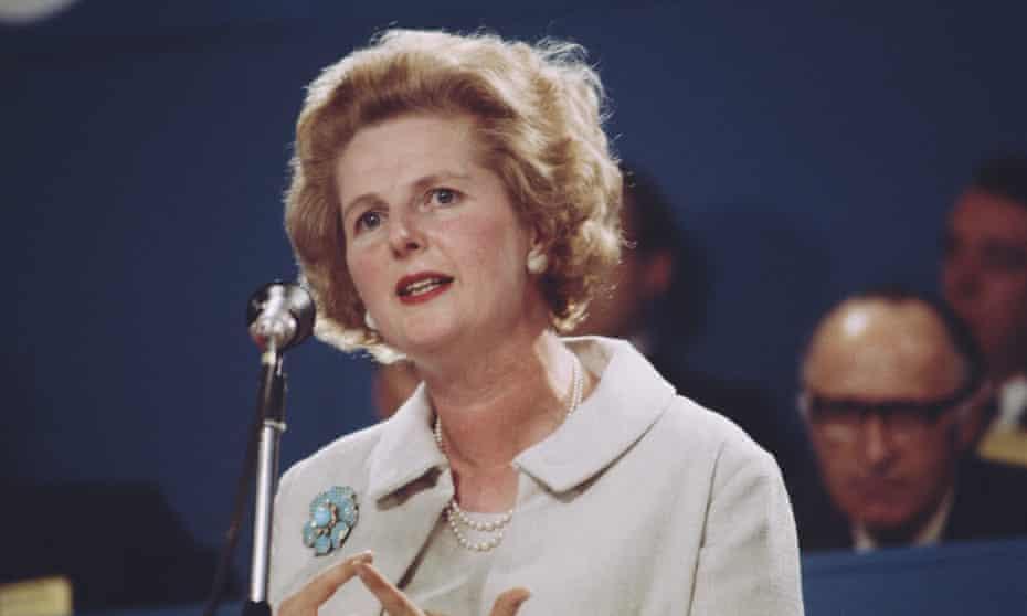 Mrs Thatcher in 1967