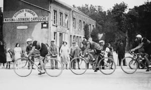 The Tour De France At Sedan, France, 1927.