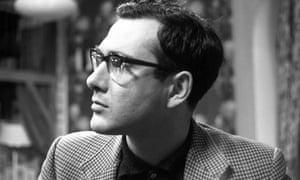 Harold Pinter in 1960.