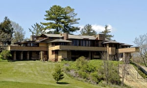 Taliesin, Frank Lloyd Wright's Wisconsin home.
