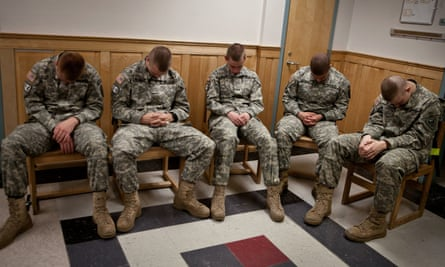 Corps of Cadet Recruits train in transcendental meditation to prevent PTSD by providing coping tools before exposure to combat or stressful situations.