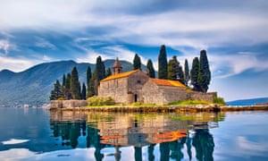 St.George Island in Montenegro
