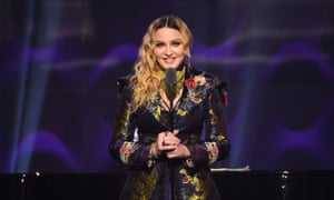 Madonna at Billboard's Women in Music awards in 2016.