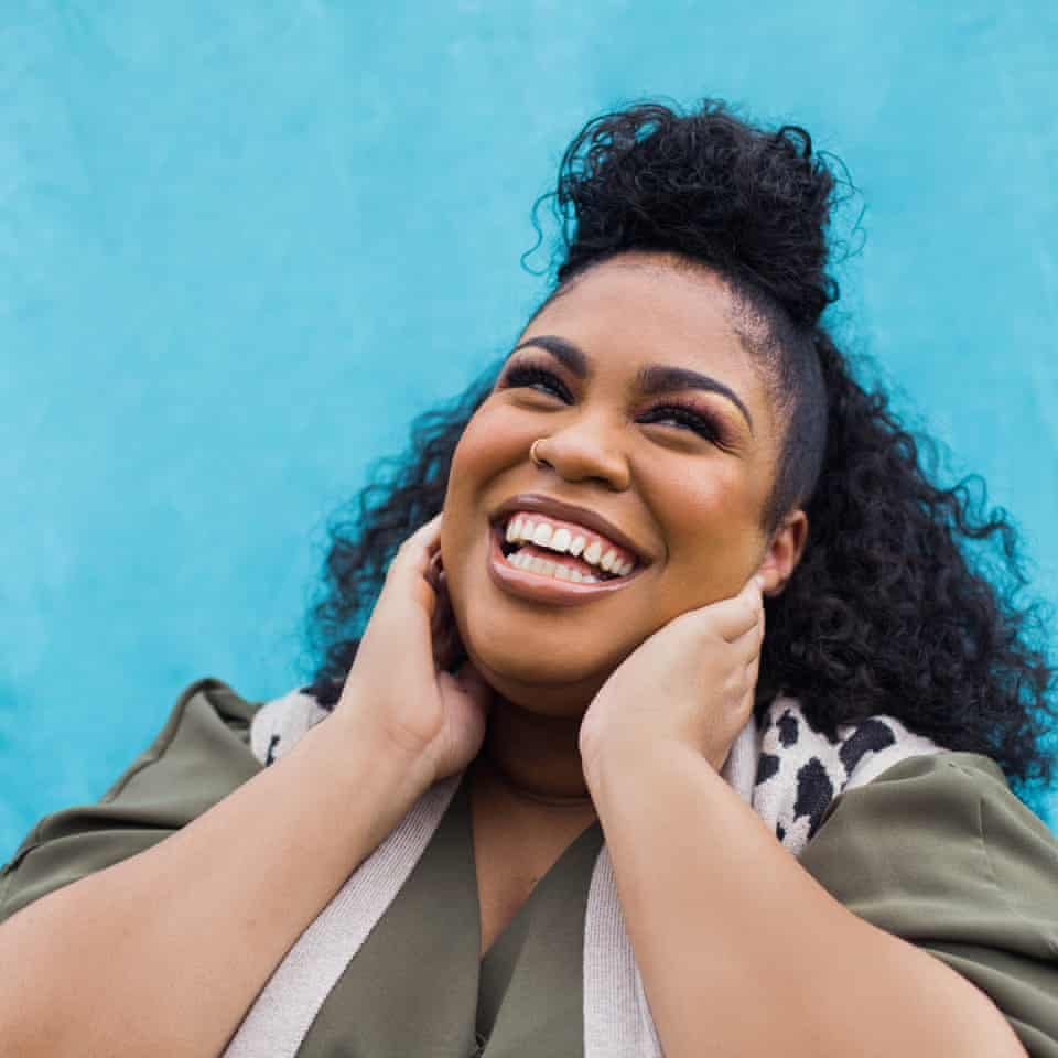 Author Angie Thomas photographed at her home near Ridgeland in Jackson, Mississippi.