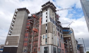 Construction of the new Royal Liverpoolhospital last year. The project has been hit by setbacks.