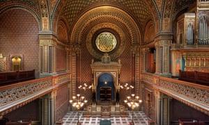 Prague's Moorish-style 'Spanish' Synagogue