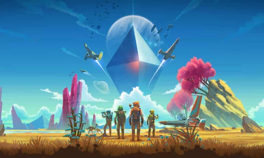 Brave new worlds … No Man's Sky Next