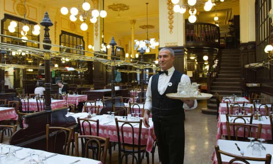 The historic restaurant Bouillon Chartier in Paris