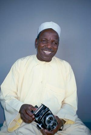 Malick Sidibé in 1997