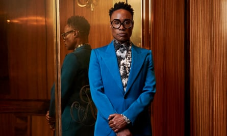 'I don't care what you think about me': Billy Porter.