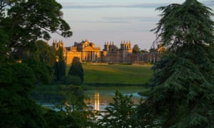 Blenheim Palace in Oxfordshire.