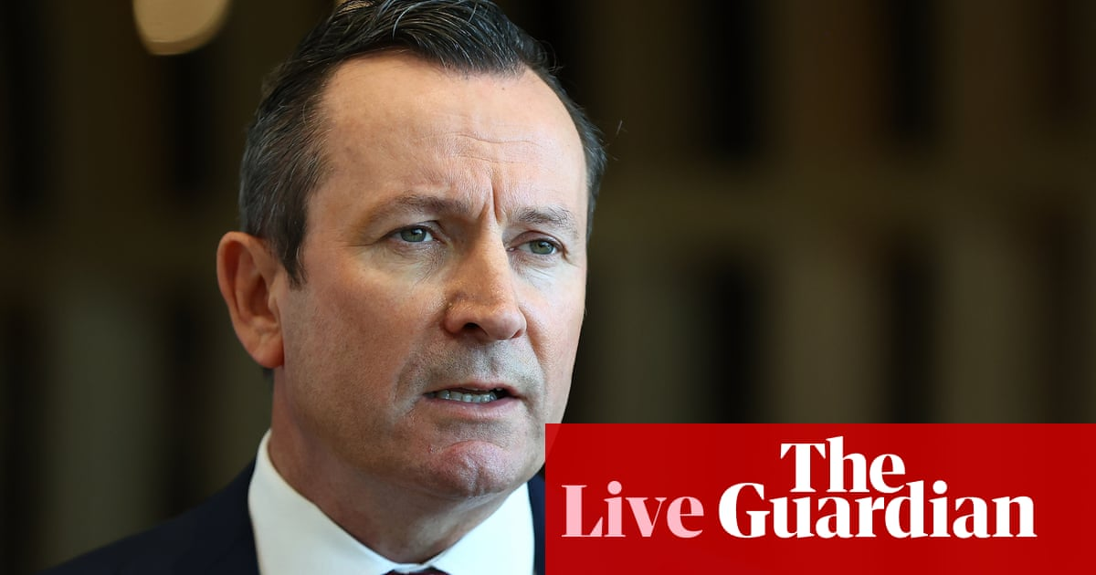 Australian politics live: WA lifts quarantine requirements for visitors from Victoria and NSW