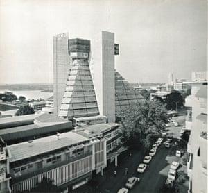 La Pyramide, Abidjan, Ivory Coast, 1968–1973
