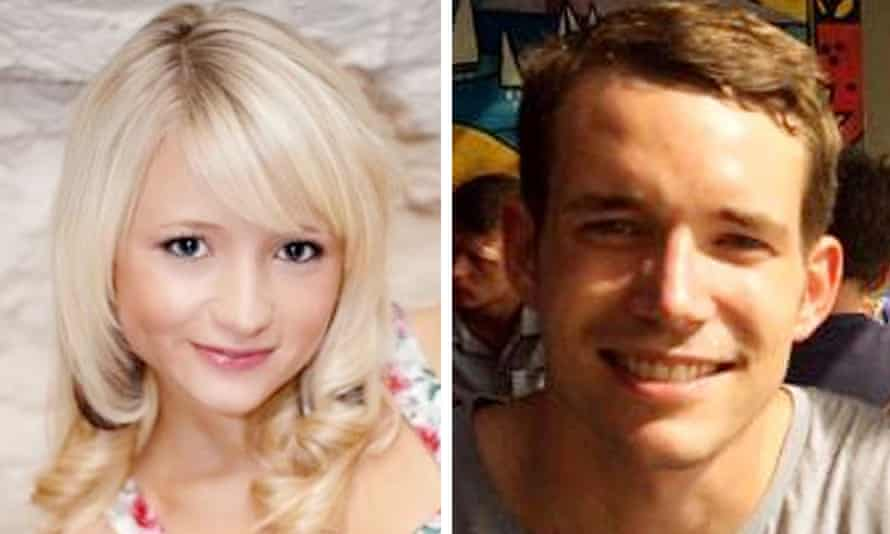 Murdered Britons Hannah Witheridge and David Miller.