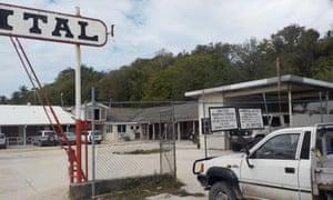 The hospital on Nauru.