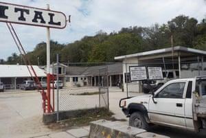 The hospital on Nauru