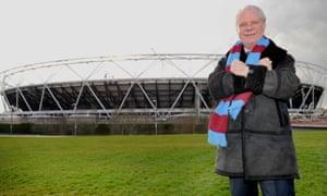 West Ham United's David Gold at the Olympic Stadium