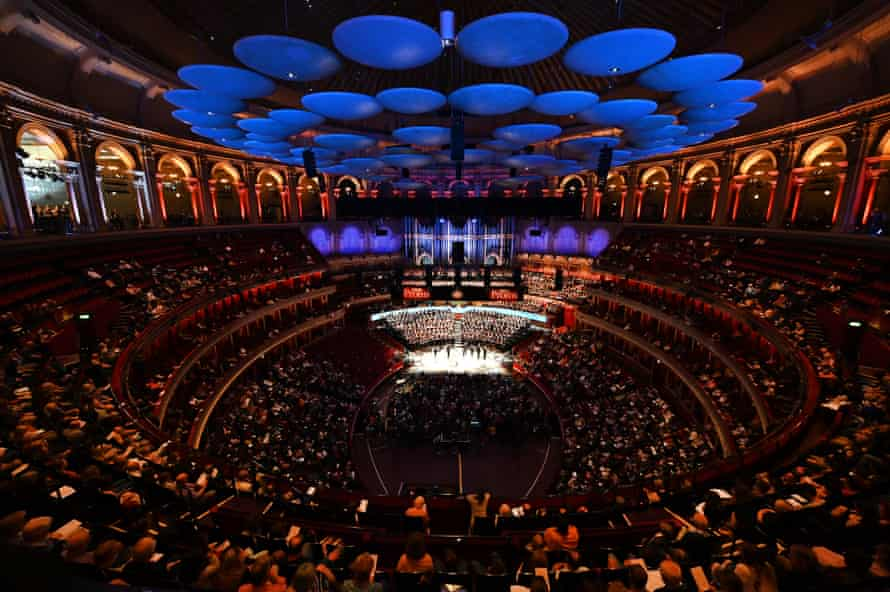 Extravagant … John Luther Adams's In the Name of the Earth involved eight choirs and more than 600 singers.