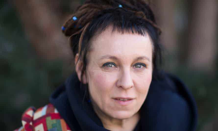 Olga Tokarczuk, nominated for Drive Your Plow Over the Bones of the Dead.