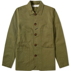Bakers jacket, £155, endclothing.com