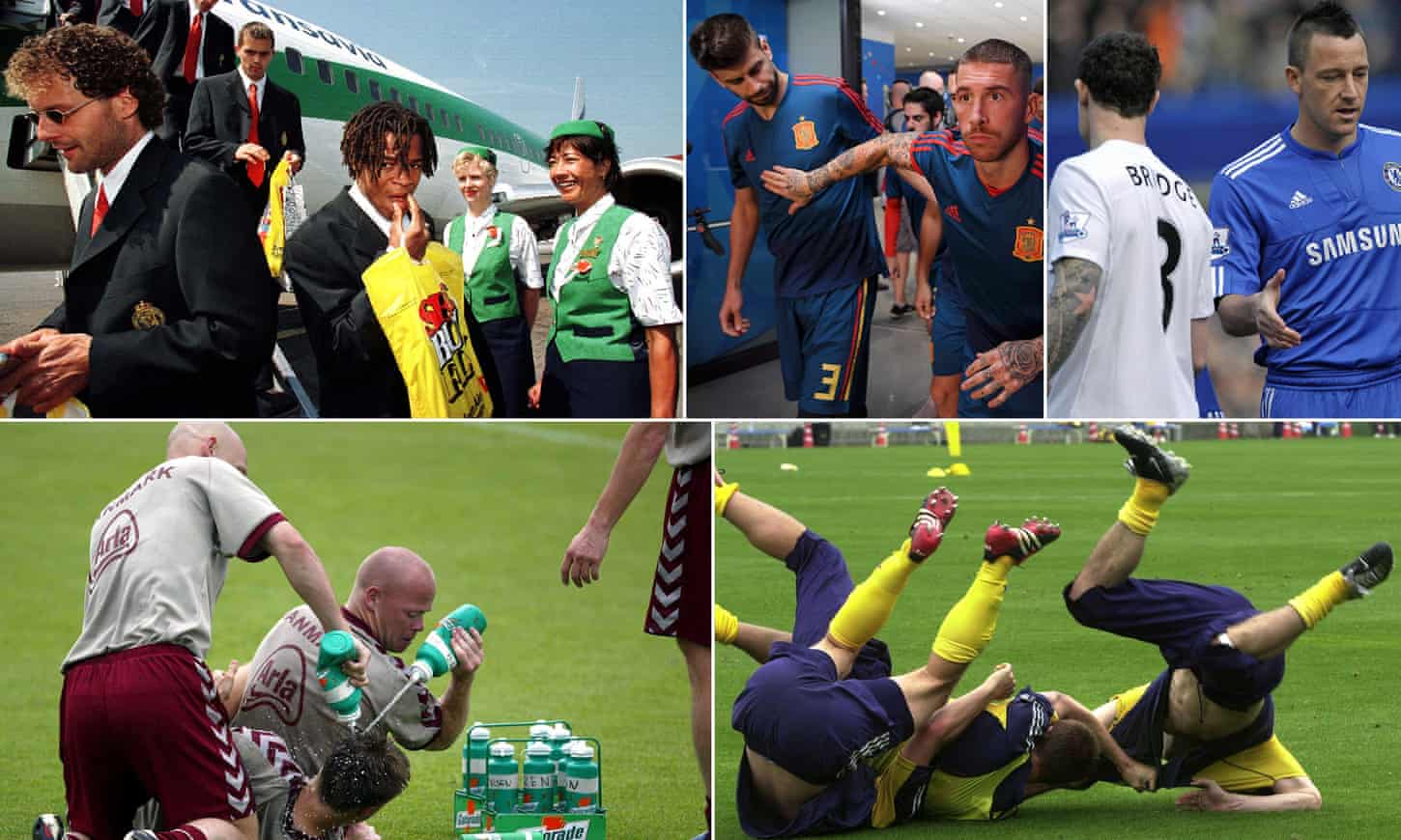 From Piqué and Ramos to Bridge and Terry: international bust-ups