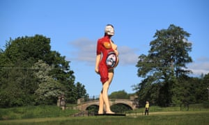 Damien Hirst's Virgin Mother in Yorkshire Scupture Park