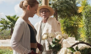 Not going gently … Sofia Helin, left, and John Hurt in That Good Night