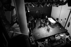 Mojo, 1995 Venue: Royal Court Theatre, London Director: Ian Rickson Playwright: Jez Butterworth © Ivan Kyncl. Courtesy of the V&A, London